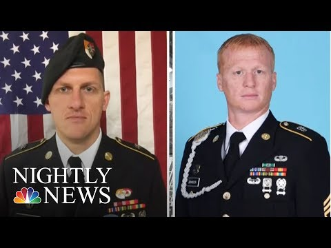 Fourth U.S. Soldier Killed In Niger | NBC Nightly News