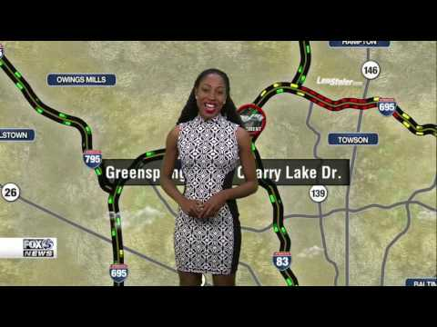 Chardelle Moore Traffic Reporter WBFF FOX45 Baltimore