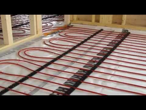 In Floor Heating Radiant Heating Rpm Do It Yourself Doovi