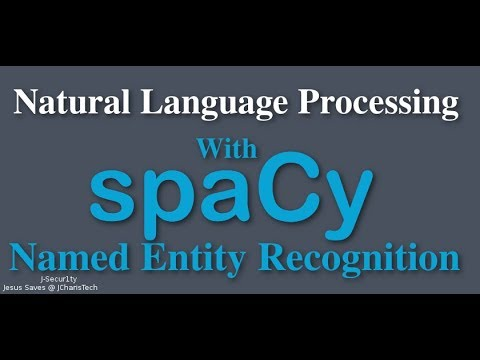 SpaCy Python Tutorial - Named Entity Recognition
