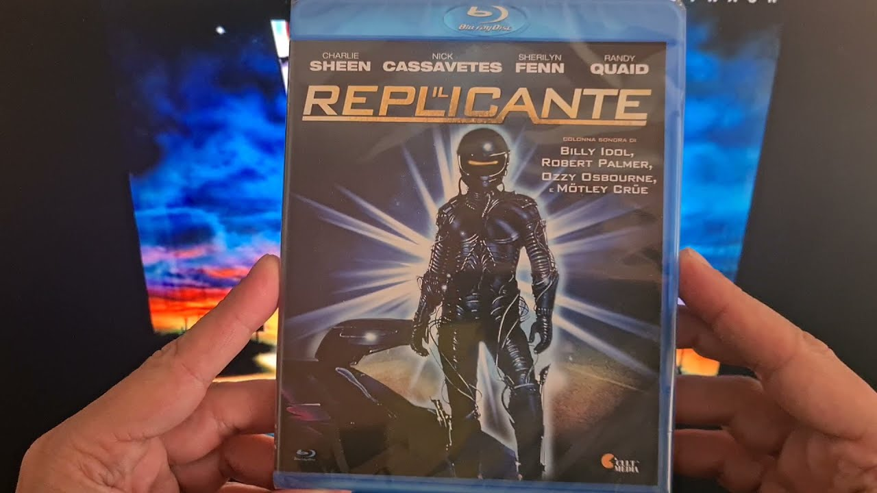 Download Il Replicante (The Wraith) 1986 - Blu-Ray - Unboxing