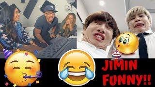 BTS Jimin Funny Moments By Squishy Min Yoongi - KITO ABASHI REACTION - BDAY SPECIAL
