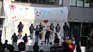 2013/11/17 植草学園大学 手話サークル「Hand☆Peace」が緑栄祭...
