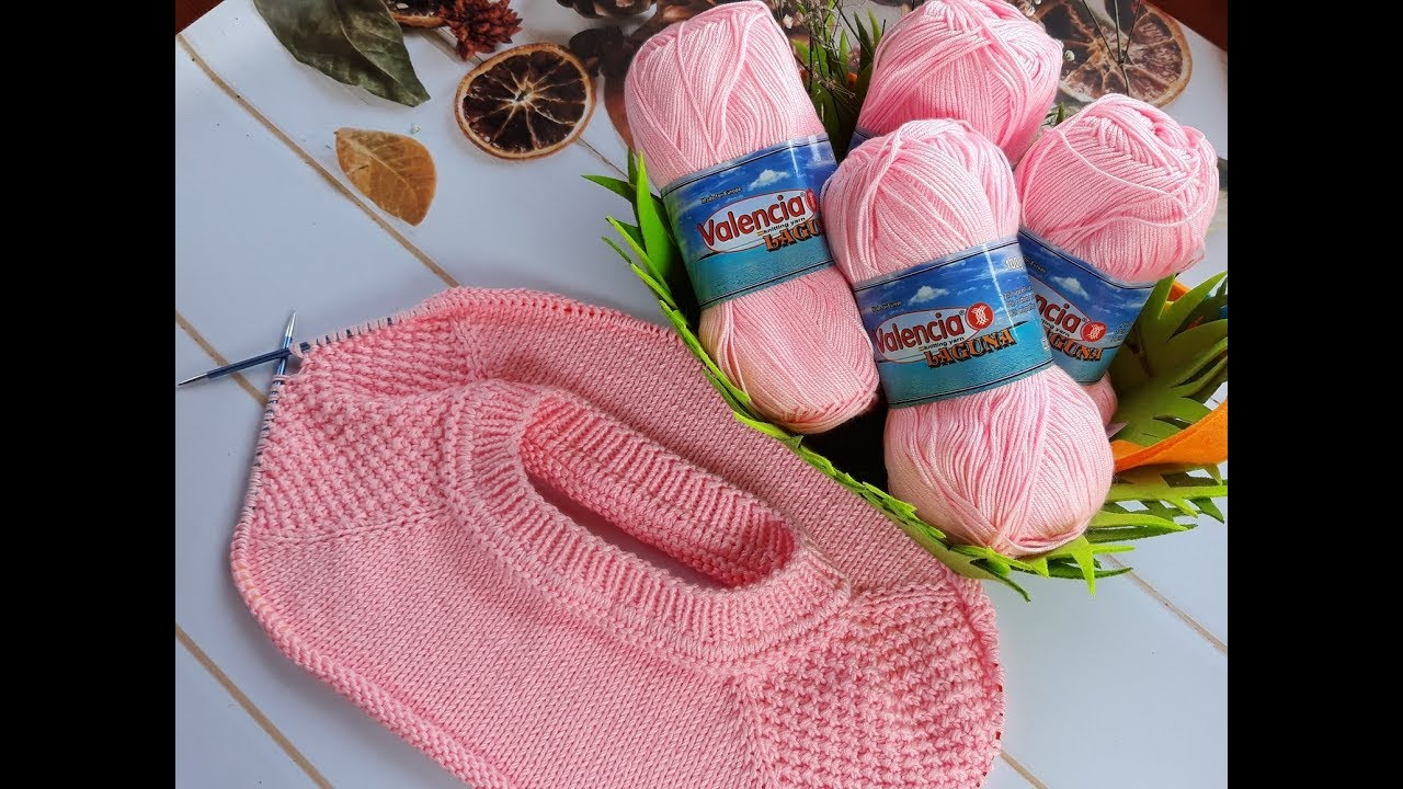 схема вязки спицами шарфа хомута