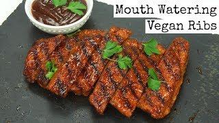 Mouth Watering Vegan Ribs thumbnail