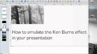 Keynote-tutorial: so erstellen Sie eine Ken Burns-Effekt