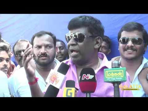 Sarath Kumar is trying to stop Nadigar Sangam election - Vadivelu accuses