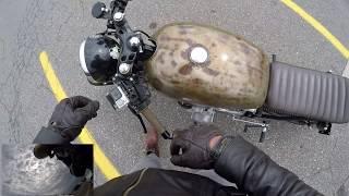 Cafe Racer Moto Vlog - AMAZING SOUNDS! - Plans, etc - Motovlog #2 Get Video Get Video