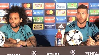 Sergio Ramos & Marcelo Full Pre-Match Press Conference - Real Madrid v Liverpool - Champions League