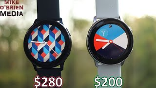 WATCH ACTIVE 2 vs. ACTIVE by SAMSUNG (Is it worth the upgrade) - Honest and In-Depth Comparison