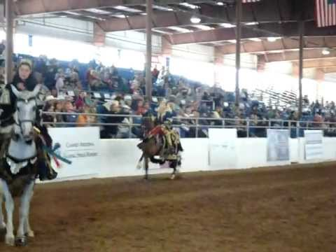 Jessica Carlson & Rocky at the Scottsdale Arabian Horse  2012