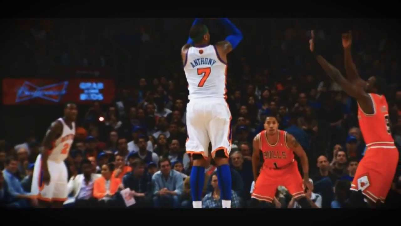 Carmelo Anthony Shooting Form - YouTube