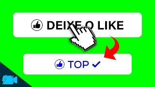 Chroma Key Like  BotÃo De Like Do Youtube  🎬 4
