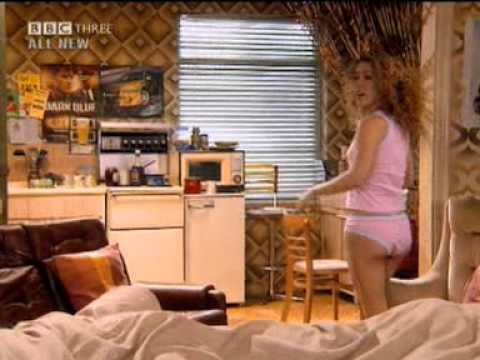 Natalie Casey in pants  Two Pints