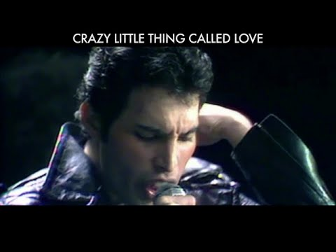Queen - Crazy Little Thing Called Love (Official Lyric Video)