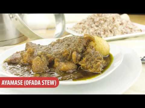 How To Make The Nigerian Ayamase (Ofada Stew) - Chef Lola's Kitchen