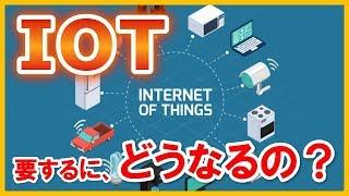 IOTとは?現状と近未来テクノロジー2018