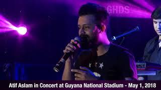 Atif Aslam Concert highlights - Guyana 2018