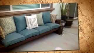 #mommypowersdiy How To Build A Patio Sofa/bench Part 5