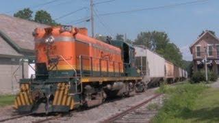Alco Chasing on the Batten Kill Railroad