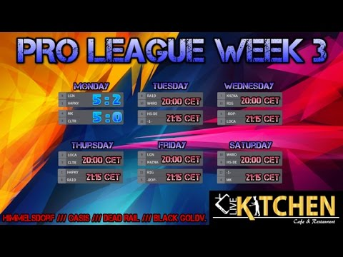 Blitz Pro League Week 3 - Day3 // -6S- vs R1G