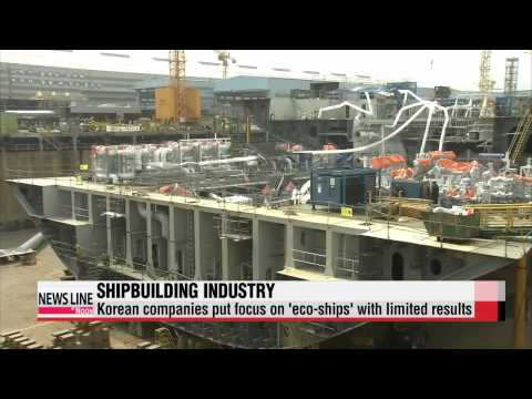 Korean shipbuilders lag behind as China rises
