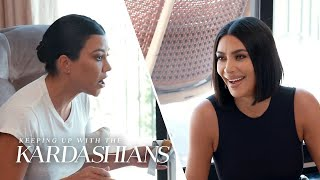 Kourtney Calls Out Kim in Expletive-Filled Blowup | KUWTK | E!