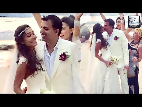 Lisa Haydon WEDDING Inside Pictures | Dino Lalvani  | LehrenTV