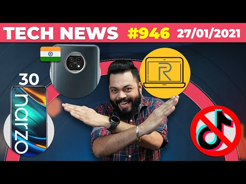realme Laptop India Launch, Narzo 30 Coming, iPhone SE Plus,POCO M3 On 2nd Feb, Moto Edge S-#TTN946