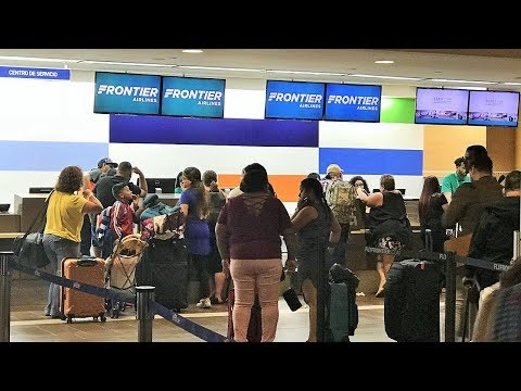 My Experience With Frontier Airlines