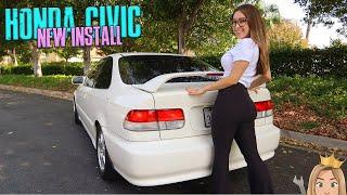 Civic EK Coupe NEW parts!!