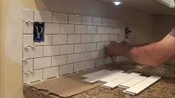 How to Tile a Backsplash. You can do it too! Фартук для кухни