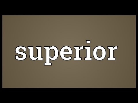 Superior Meaning