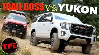 Truck vs SUV: We Push The Limits of the new 2021 GMC Yukon AT4 Off-Road!