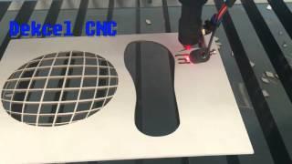 co2 cnc laser cutting hard PVC sheet