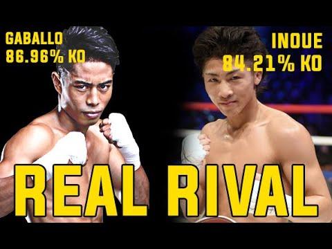 NAOYA INOUE REAL RIVAL Reymart Gaballo With 86.96%KOS