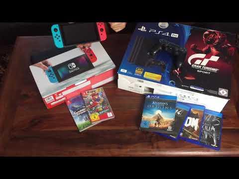 Nintendo Switch VS. Playstation 4 - Was Ist Besser ?