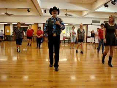 Achy Breaky ( Line Dance ) Walkthrough