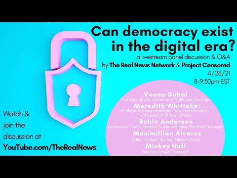 Can democracy exist in the digital era?