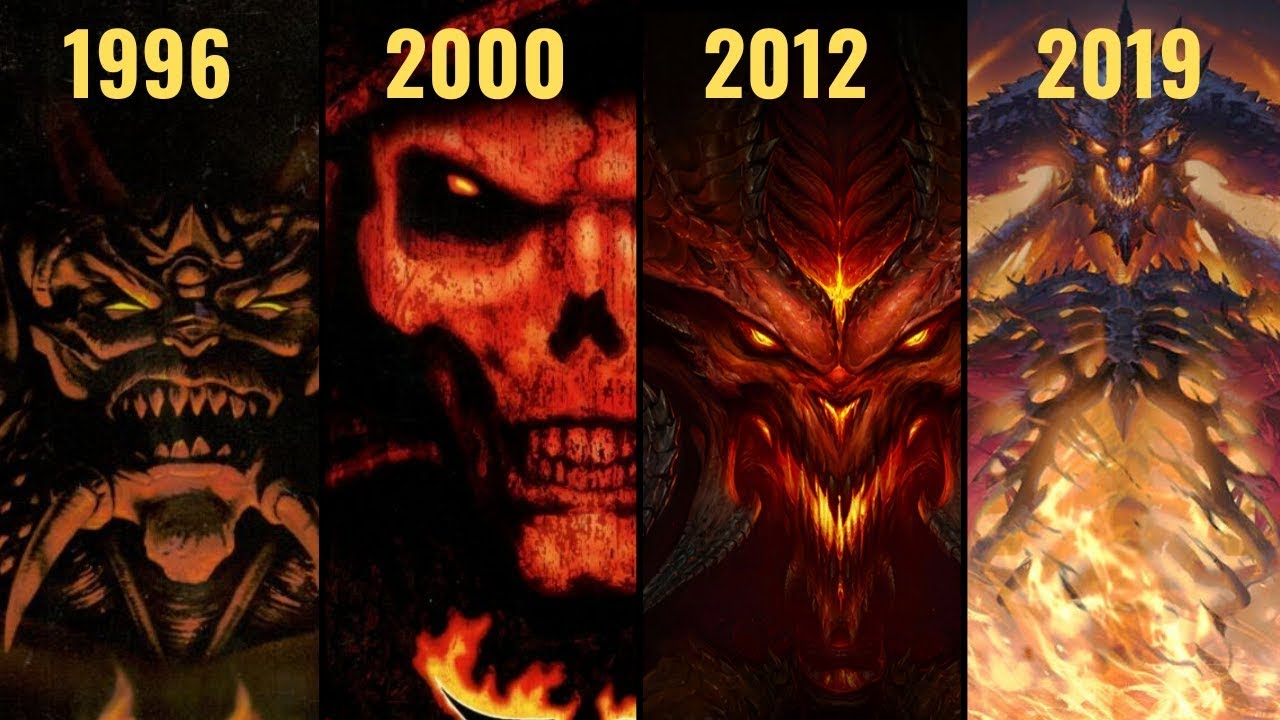 The Evolution Of Diablo (1996 - 2019)