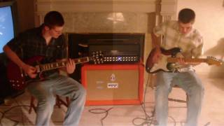 Fat Lip Cover (Two guitars high quality!) - Sum 41
