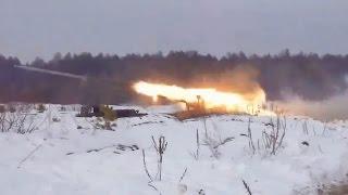 Війна на Україні - українські РСЗВ 9К57