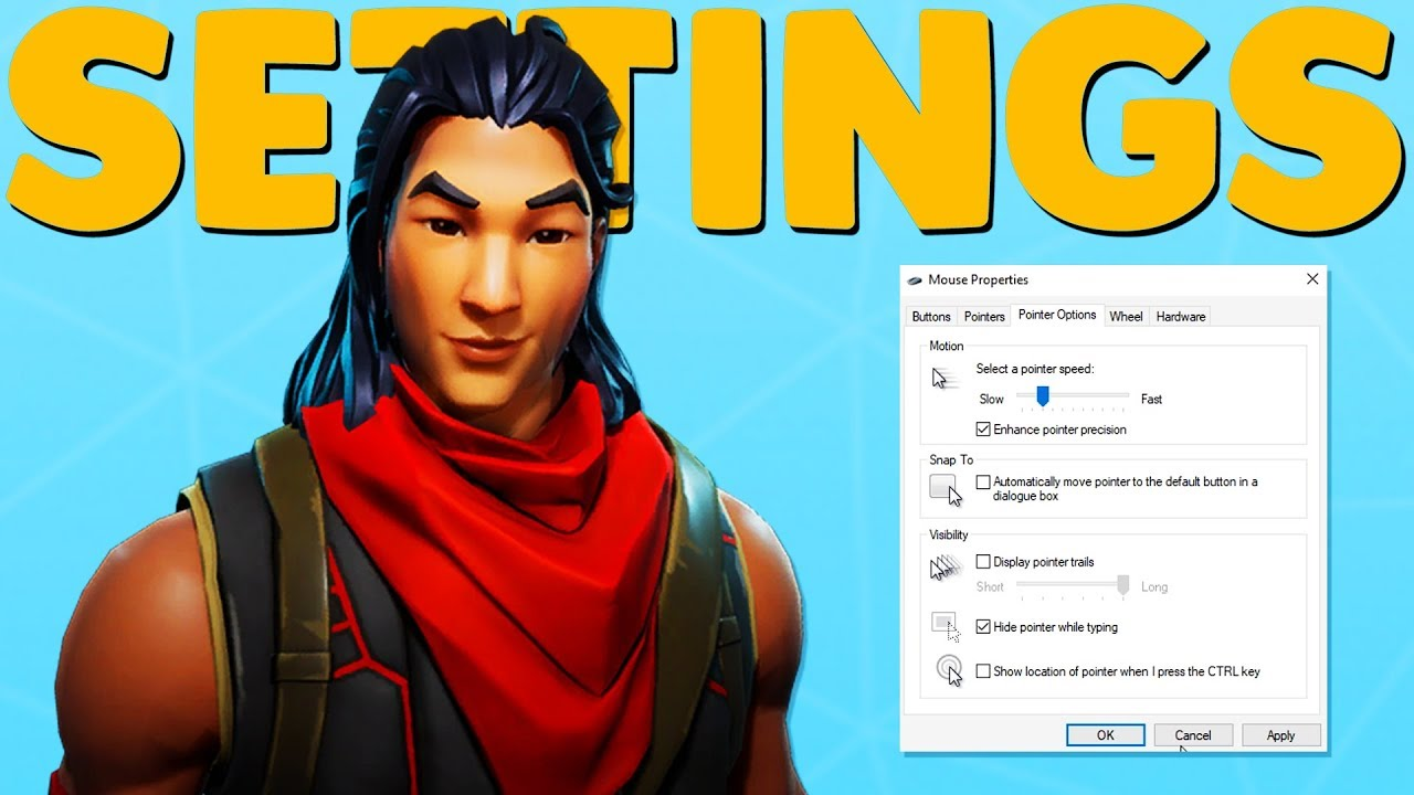 Fortnite: Best Settings (PC, PS4 and Xbox) | Metabomb