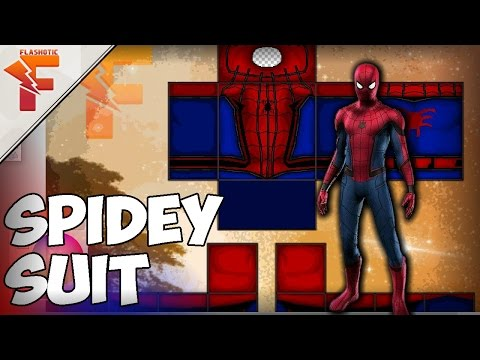 Roblox Spider Man Homecoming Shirt - Spidey Suit Roblox Clothing Youtube