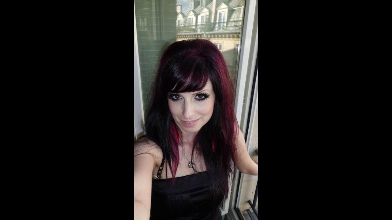tout sur mes cheveux et comment les garder vibrants youtube - Coloration Violine Soie