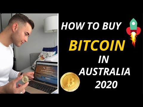 How To Buy Bitcoin Australia 2020
