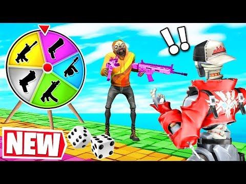 Fortnite BOARD GAME For LOOT Challenge! *NEW* Gamemode In Fortnite Creative