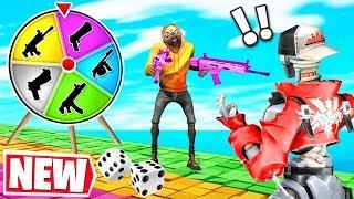 Fortnite BOARD GAME for LOOT Challenge! *NEW* Gamemode in Fortnite Creative