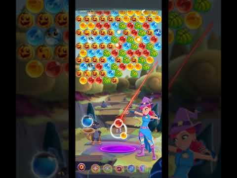 Bubble Witch 3 Saga Level 1406 ~ NO BOOSTERS