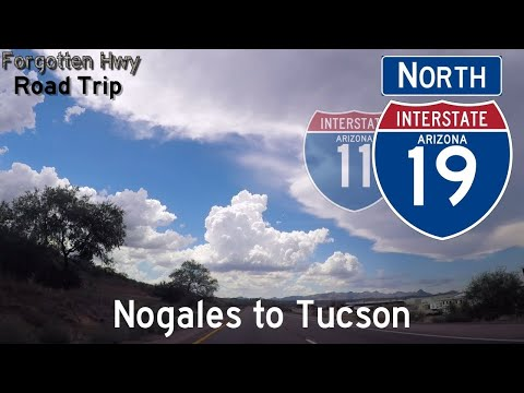 I-19 North - America's Metric Highway - International Border at Nogales to Tucson (Entire Route)